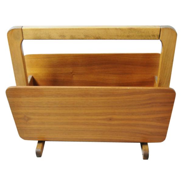 zeitungsst nder mid century teak danish design vintage. Black Bedroom Furniture Sets. Home Design Ideas