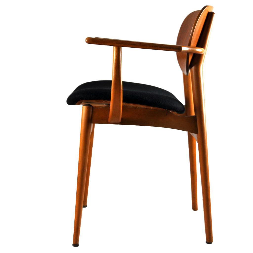 1 dining chair danish design vintage 1950er hyggelig berlin. Black Bedroom Furniture Sets. Home Design Ideas